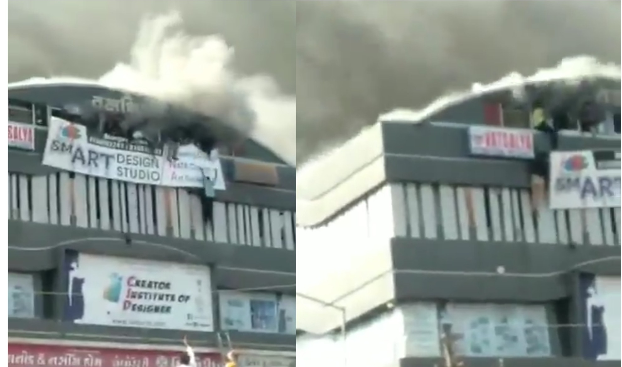 At Least 18 Students Killed In Fire At A Coaching Centre In